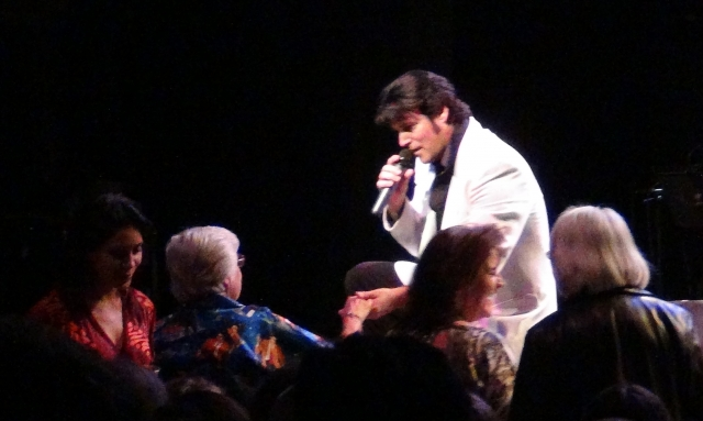 Are you lonesome tonight performed live by Chris MacDonald Elvis 1950's era of show