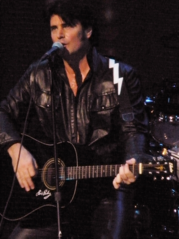 Chris MacDonald in 1968 Comeback Black Leather Look