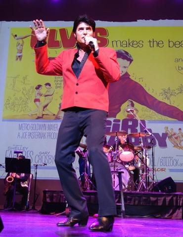 Chris MacDonald in Elvis Movie Look Red Jacket